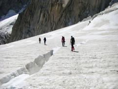 Deant du Géant, Mont Blanc massif, French Alps