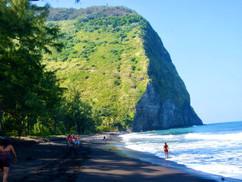 Beach/Waterfall hiking in the Big island, Hawaii