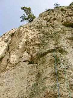 Rock climbing in Les Calanques (France)