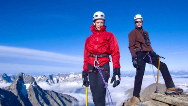 Oisan, French Alps, 12000feet/3700m altitude