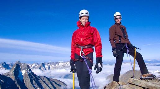 Oisan, French Alps, 12000 feet/3700m altitude