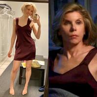 The Good Fight (CBS) - Christine Baranski stunt double