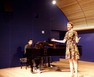 "Zerbinetta's aria, from ""Ariadne auf Naxos"" by Richard Strauss, live at Opera America, NYC"