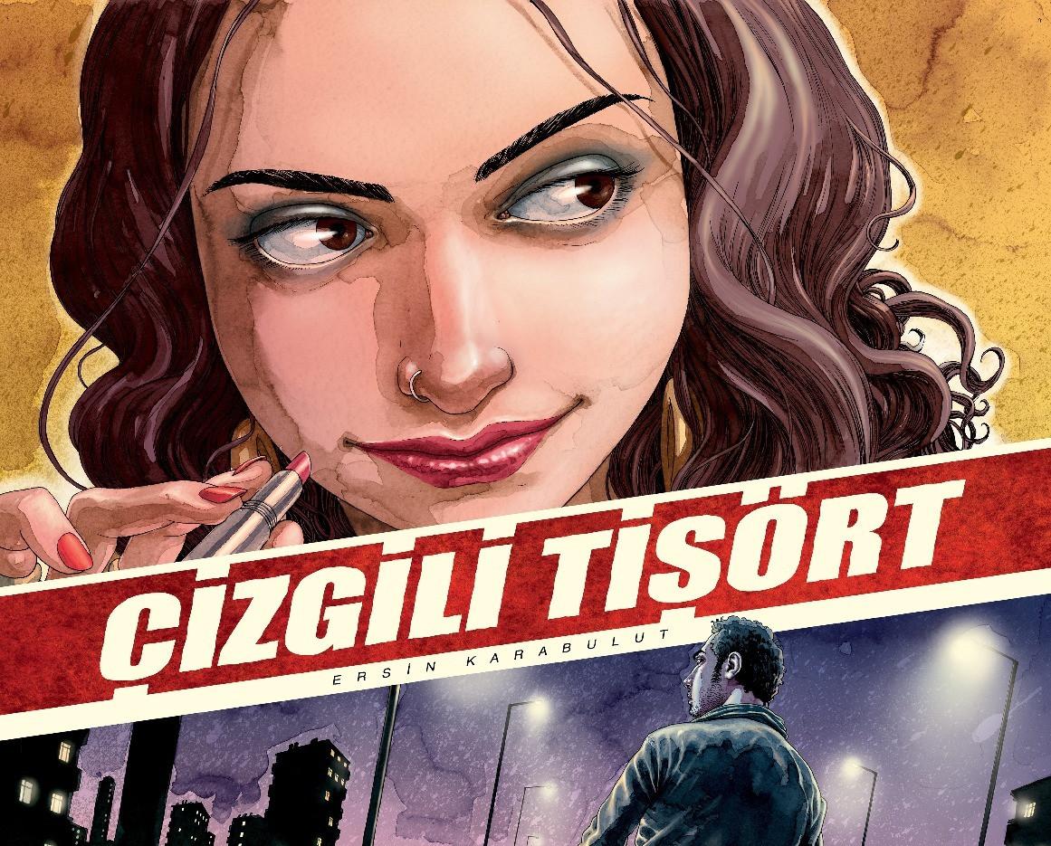 Cizgili Tisort - Striped T-shirt