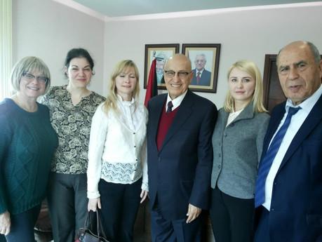 Встреча с представителями Московского Института гуманитарного образования и тестирования, представит