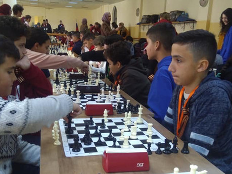 "Шахматный турнир ""Спорт вместо войны"""