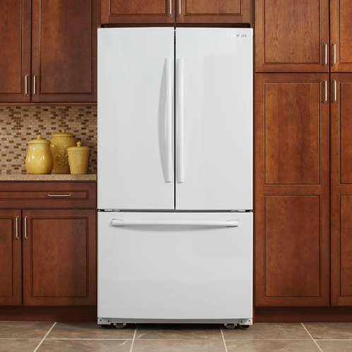 25.5 Cu. Ft. French Door Refrigerator RF260BEAEWW/AA