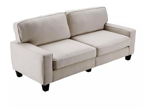 "78"" Palisades Sofa Light Gray - Serta"