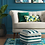 Thumbnail: Lory Pouf Textured Teal/Green