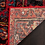 "Thumbnail: Square 5'3"" Barrera Southwestern Red Area Rug"