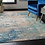 Thumbnail: 10' x 14' Abderus Abstract Blue/Gray Area Rug