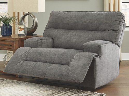 Coombs - Charcoal - Wide Seat Recliner (For Order)