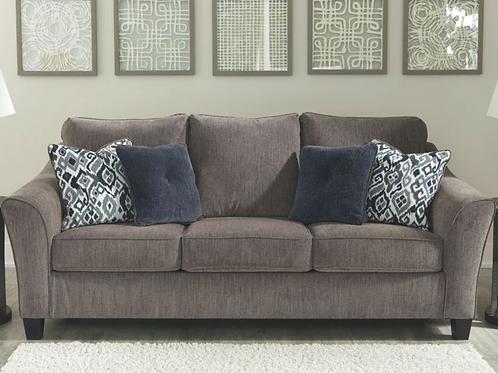 Nemoli - Slate - Sofa (Order Only)