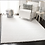 Thumbnail: 8' x 10' Bartz Shag White Area Rug