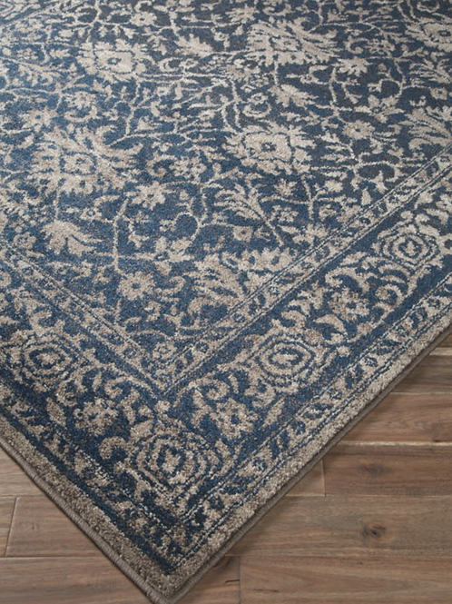 Maxton - Blue/Gray - 5' x 8'