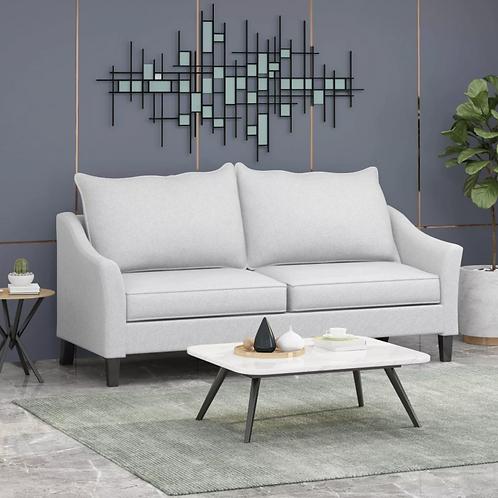 Almeda Contemporary Sofa, Beige