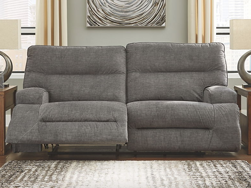 (Order Only) Coombs - Charcoal - 2 Seat Reclining Sofa