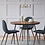 Thumbnail: 2pc Copley Upholstered Dining Chair Blue