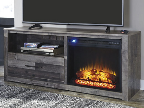 "Derekson 59"" TV Stand with Electric Fireplace option"