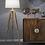 "Thumbnail: Silber Wood 63"" Tripod Table Lamp"