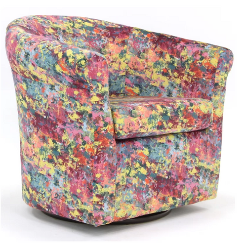 Moldenhauer Swivel Barrel Chair