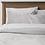 Thumbnail: 7pc Queen Vinton Velvet Comforter Set with Sheets Gray