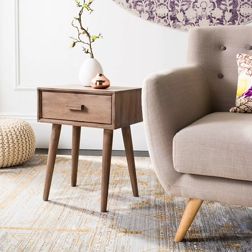 Lyle Accent Table Desert Brown