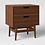 Thumbnail: Ellwood Nightstand with Drawers Brown
