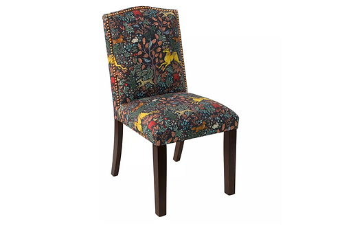 Ayla Nail Button Dining Chair - Frolic Navy