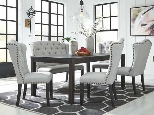 Jeanette 6 pc Dining Set