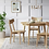 Thumbnail: Astrid Mid-Century Round Dining Table with Extension Leaf