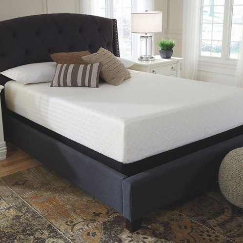 Chime 12 Inch Memory Foam - White - Full Mattress