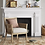 Thumbnail: Laconia Caned Accent Chair Beige