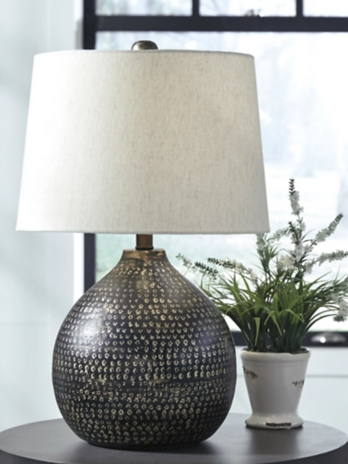 Maire - Black/Gold Finish - Metal Table Lamp (1/CN)