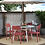 Thumbnail: Chandler 4pk Indoor/Outdoor Stacking Dining Chairs