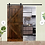 Thumbnail: Paneled Wood Painted Barn Door without Installation Hardware Kit