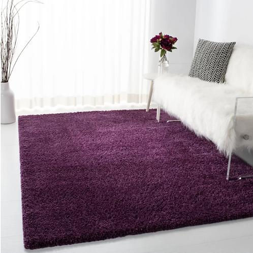 4' x 6' Bartz Purple Area Rug