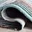 Thumbnail: 6' x 9' Hand-Tufted Wool Teal/Green Area Rug