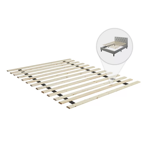 Queen- Audra Folding Wood Bed Slats