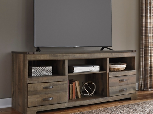 Trinell TV stand with fireplace option