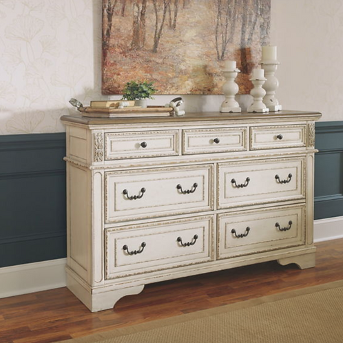 Realyn - Two-tone - Dresser (Order only)