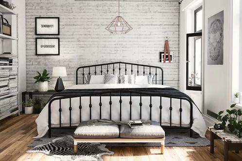 Novogratz Tildan Standard Black Bed - FULL