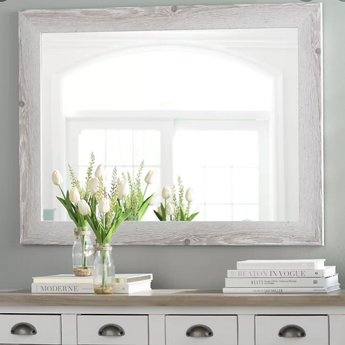 Laurel Foundry Modern & Contemporary Distressed Accent Mirror