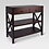 Thumbnail: Owings Console Table with 2 Shelves and Drawers Espresso Brown