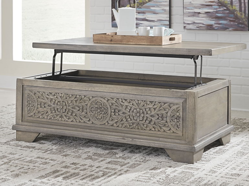 Marcilyn - Brown - Lift Top Cocktail Table