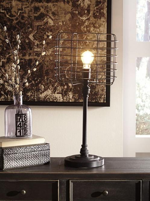Javan - Antique Black - Metal Table Lamp (1/CN)