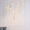 Thumbnail: Alycia 16 - Light Cluster Cylinder LED Pendant with Crystal Accents