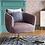 Thumbnail: Morpho Swivel Velvet Armchair