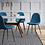 Thumbnail: (Set of 2) Copley Upholstered Dining Chair Teal