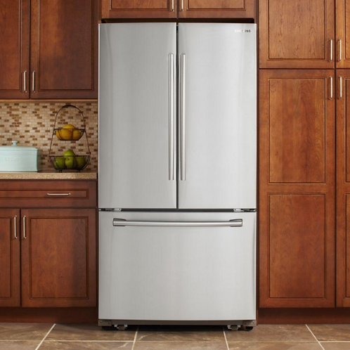 RF260BEAESR 25.5 cu. ft. French Door Refrigerator in Stainless Steel